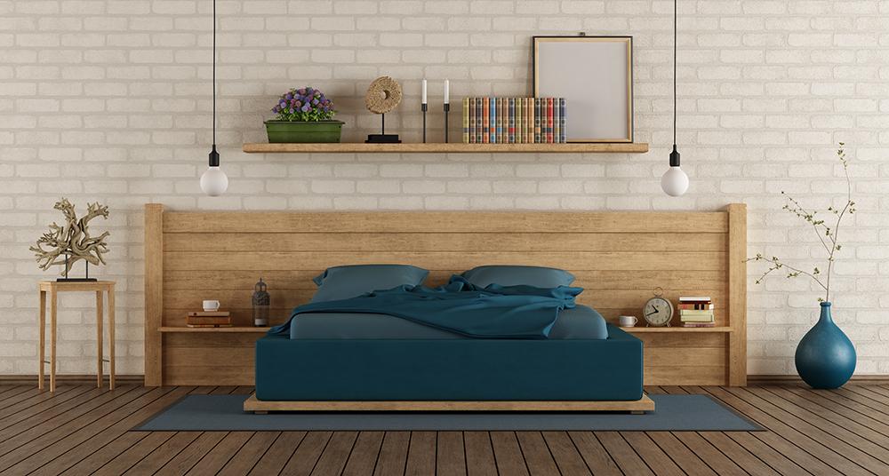 Chambre à coucher en Bois - Meubles et décoration chez Bois Maroc